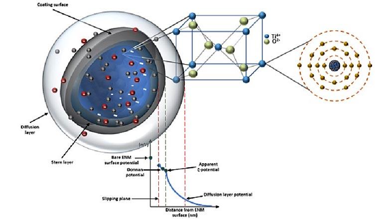 Escalas de descriptores de nanopartículas