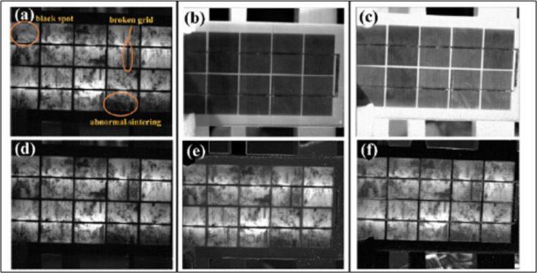 Detección de defectos en paneles solares de silicio